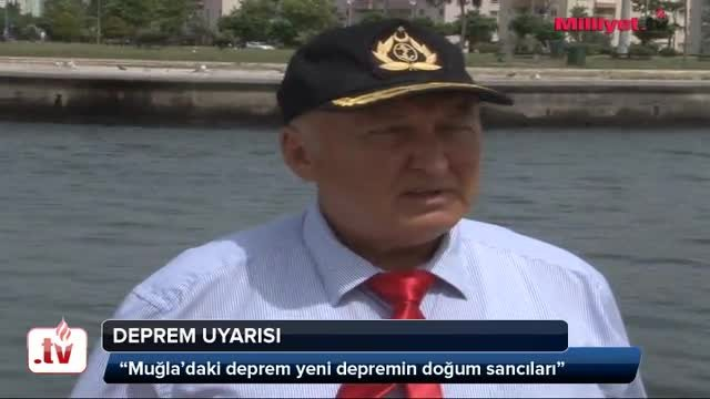 Deprem uyars